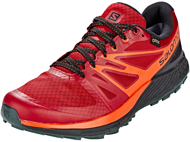 Salomon Sense Escape GTX Shoes Men Red Dahlia/Black/Cherry Tomato
